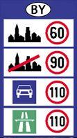 Fehérorosz autópálya sebesség
